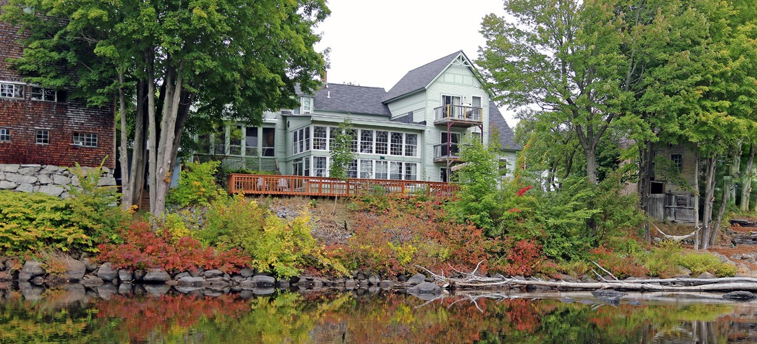 Henniker House In Autumn